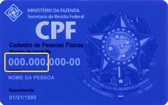 CPF do Titular (sem ponto)