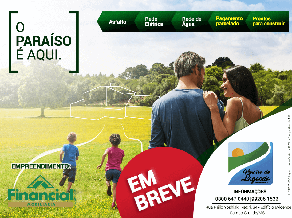 Paraiso do Lageado - Banner Site